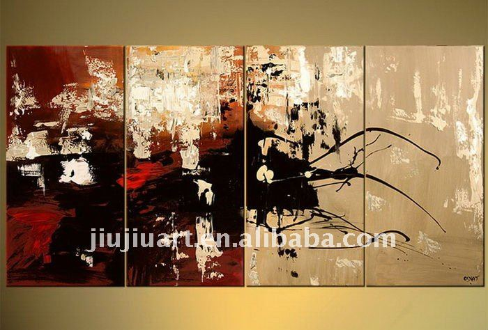 <CTG-00122> abstract handmade modern art wall art oil painting