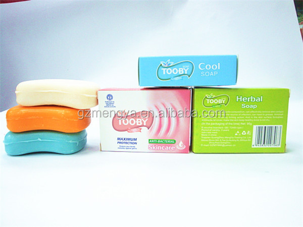 Tooby brand free sample wholesale handmade glycerin soap