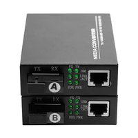 20KM Factory Price 10/100M Fast Ethernet Fiber Media Converter