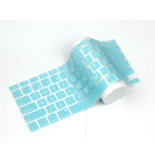 Custom language keyboard silicone waterproof laptop keyboard covers silicone protector for macbook