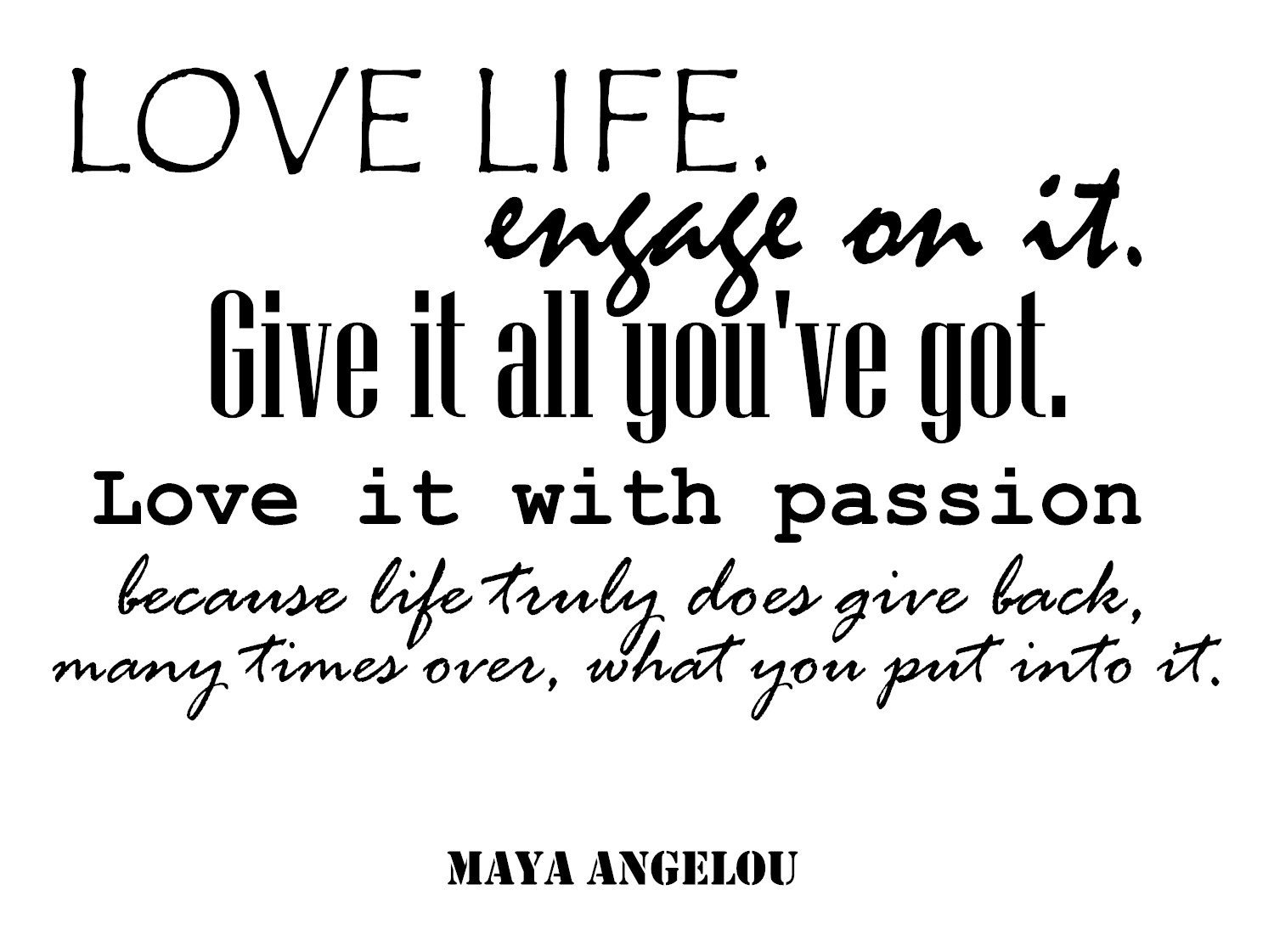 Maya Angelou Quotes Removable Wall Decals: Famous Quotes Wall Decals. A Wall Decal Quote Decal Vinyl Stickers. Premium Motivational Quotes Decals. Inspirational Wall Art Decor Made in USA - BLACK