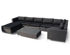 WF231-21 outdoor garden furniture rattan sofa set