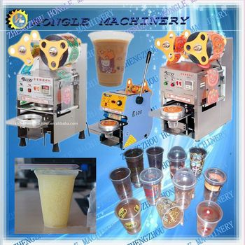 yogurt filling and sealing machine