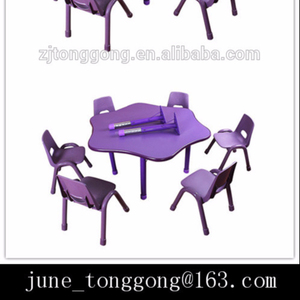 china cheap kids table and chair set/kindergarten furniture