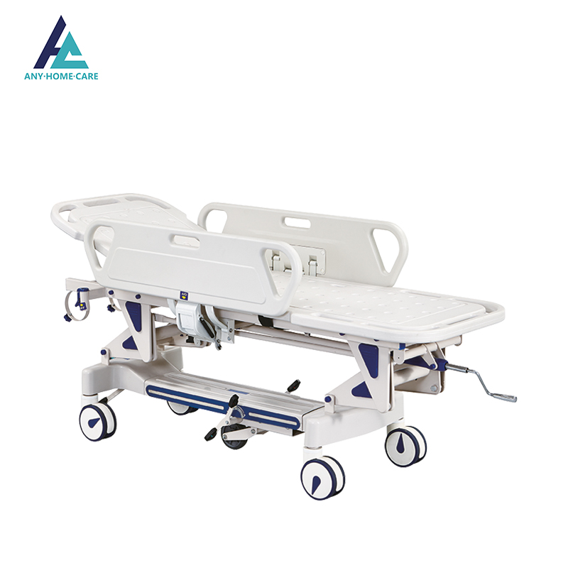 Luxurious Manual Hospital Emergency Transfer Stretcher With Mattress - Buy  Manual Hospital Stretcher,Emergency Stretcher,Transfer Stretcher Product on