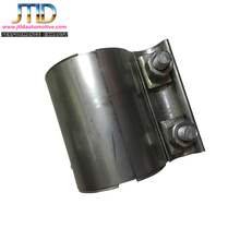 304 stainless steel preformed lap joint band exhaust clamp