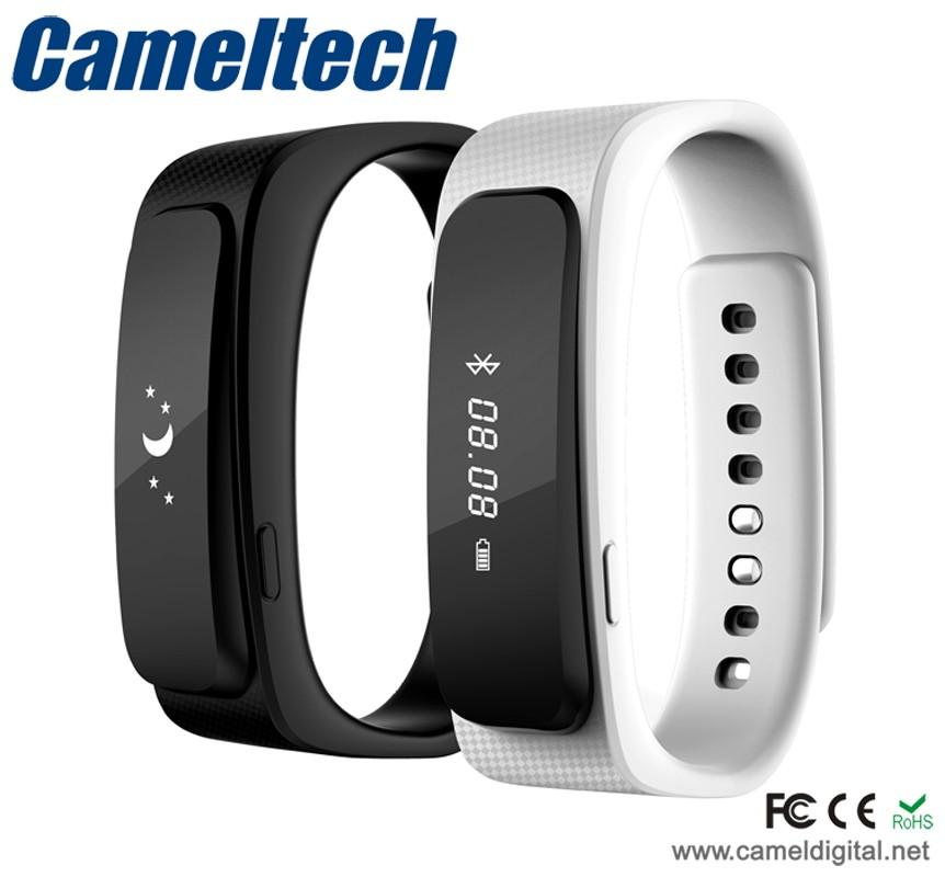 Silicone Smart Bracelet 2016 With Headset Bluetooth Bracelet Watch ...