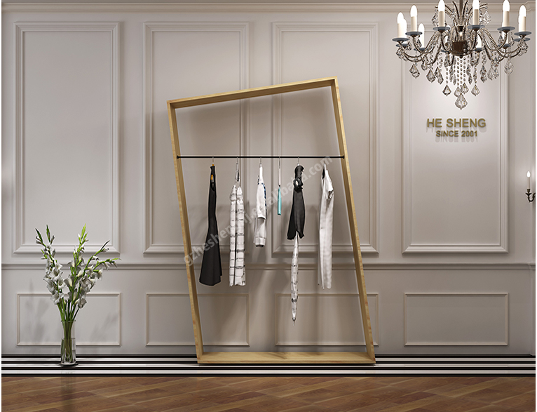 Tall cabinet .clothing store display fixtures. european style HB01G04