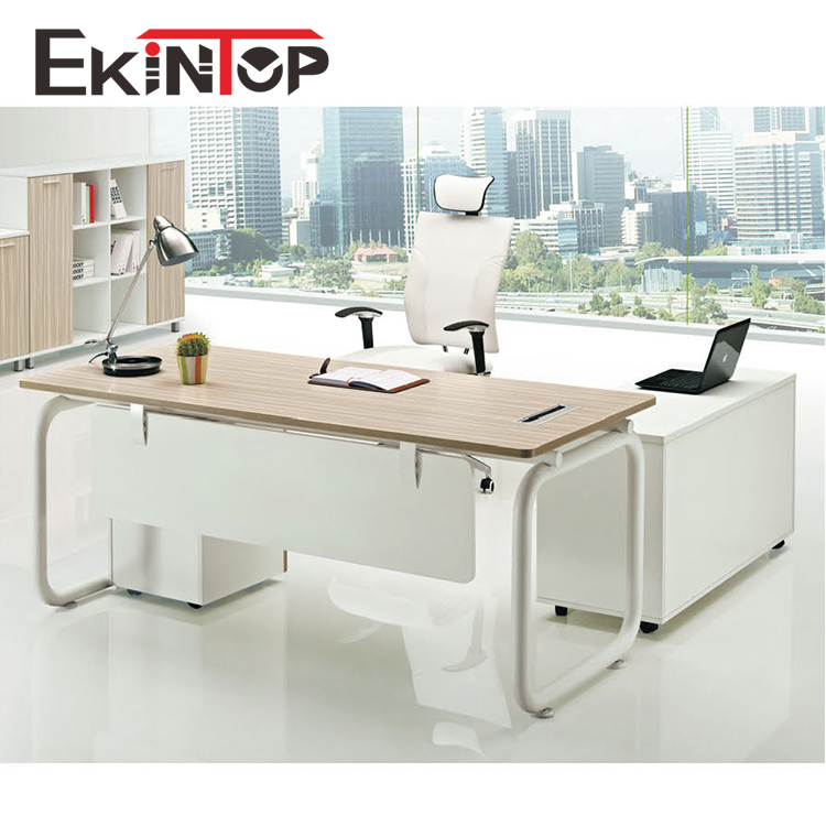 Melamine Office Furniture Table With Metal Leg For Director Used Office  Desk (jo-5010) - Buy Office Furniture Table Designs,Office Table Leg,Office  ...