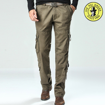 Police uniform security trouser hot sale mens cargo pants with side pockets 066f0ca52b9
