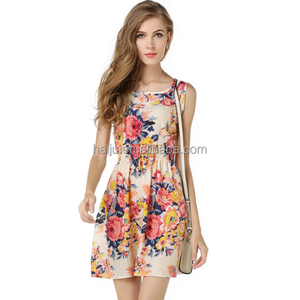 Simple fashion design women clothing dress