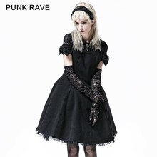 LQ-069 Sweet Fashion Bow Tie Satin Lolita Princess Cocktail Dress