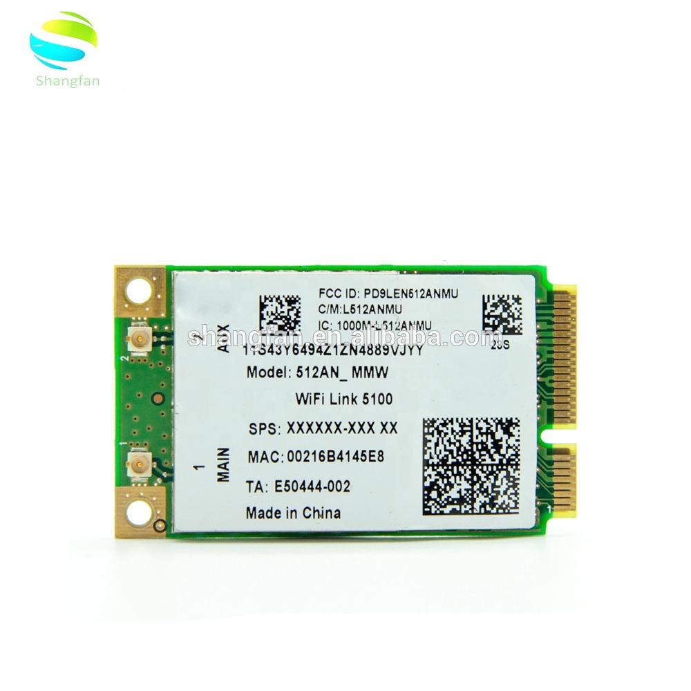 5100AGN 512AN_MMW Wireless 802 11a/g/n 300Mbps Mini PCI-E WIFI LAN CARD for  Lenovo Y450 Y450A G450 G450L G450A G450LX ADAPTER