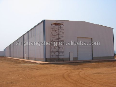 prefabricated metal steel structure sheds kits