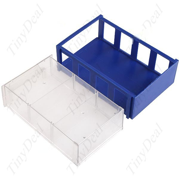 Lazydog Drawer Style Plastic Storage Box Case for Electronics Components Subassembly Parts Tools Chips CTL-35158