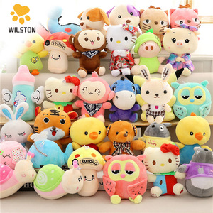 China factory supply cheap plush toys for claw machine 20cm stuffed plush toys