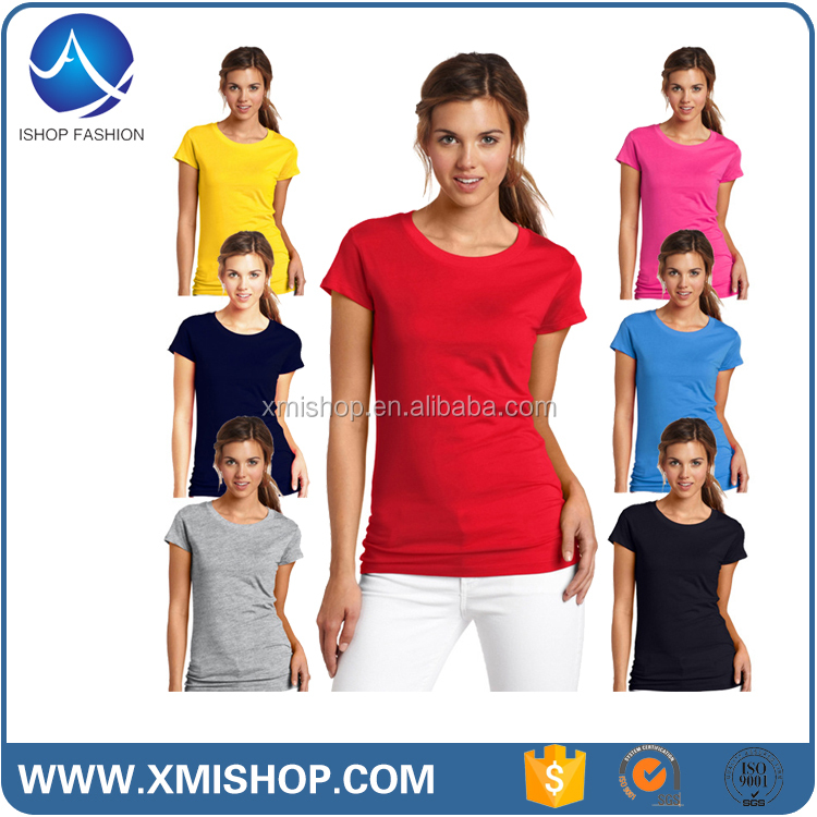 Custom Christian Personal Design Cheap Ladies T Shirt for Women