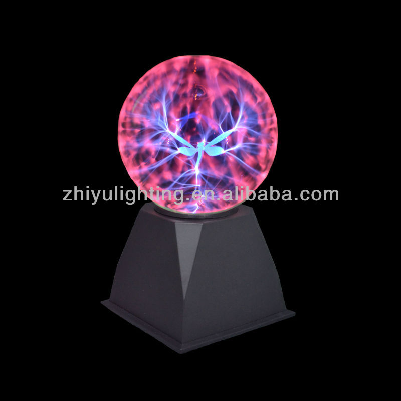 Magic plasma light,party decoration 5 inch with dragonfly plasma ball