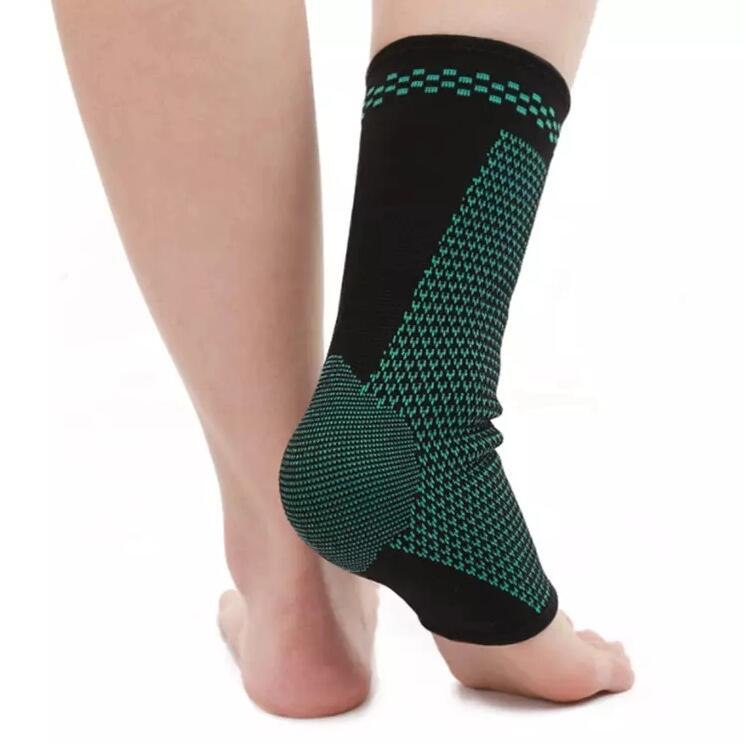 Wholesale Medical Plantar Fasciitis Nylon Compression Heel Arch Support Sport Ankle Brace Sock