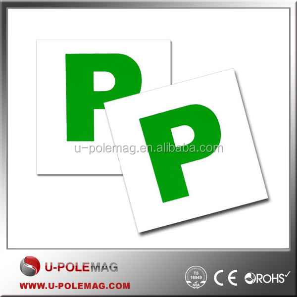 Magnetic Passed Pass New Driver Green P Plates For Car