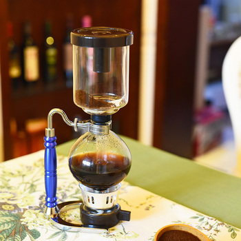 Factory supplier commercial new style royal belgium balancing siphon coffee maker