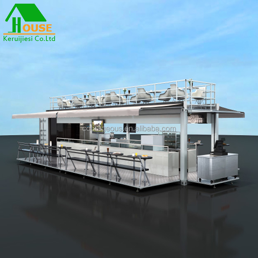 Fast Food Kiosk,Shipping Container Juice Bar Easy Assemble Shipping  Container House Coffee Bar - Buy Hip Mobile Container Bar,Cheap Mobile  Water