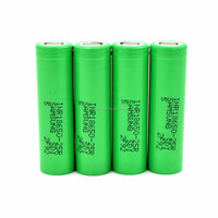New coming ! Authentic green Samsung INR18650 25R 2500mAh 3.7V 20A li-ion rechargeable battery for big mod/vape/Power tools