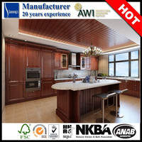 AK1255 Kitchen Pantry Cupboards Kitchen Cabinets Made in China