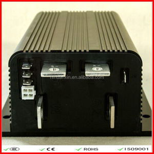 Electric bus ac motor speed controller