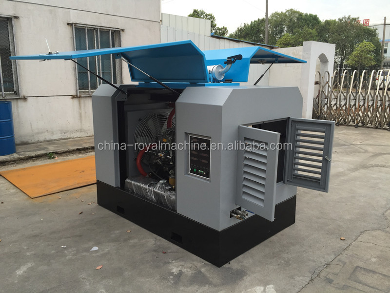 diesel engine screw air compressors for mining and construction use portable screw air compressor
