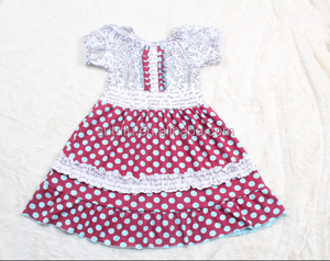 Persnickety sweet honey clothing baby frock designs fancy grils pillowcase dress wholesale boutique clothing polka dots dress