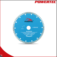 POWERTEC 4 Inch Cold Pressed Diamond Saw Blade Wet Or Dry Cutting