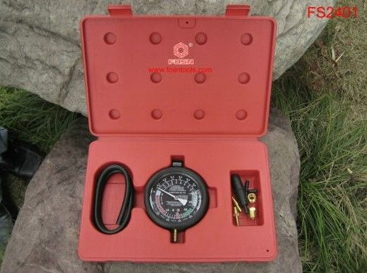 2016 Vacuum & Fuel Pump Pressure Test Gauge Set Car Diagnostic Tools car ecu test tool OEM