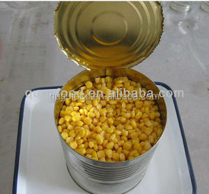 new crop 3000g good quality canned sweet corn