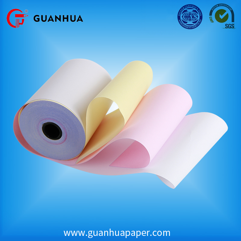 China fabriek 2 ply ncr papier roll
