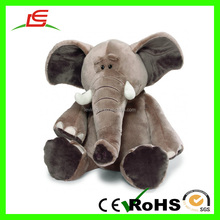 Hot Selling Long Nose Big Ear Elephant Plush Toy Wholesale For Smart Kids