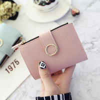 Fashion New Hot Sell Handbags Popular Woman Pu Leather Purse Wallet
