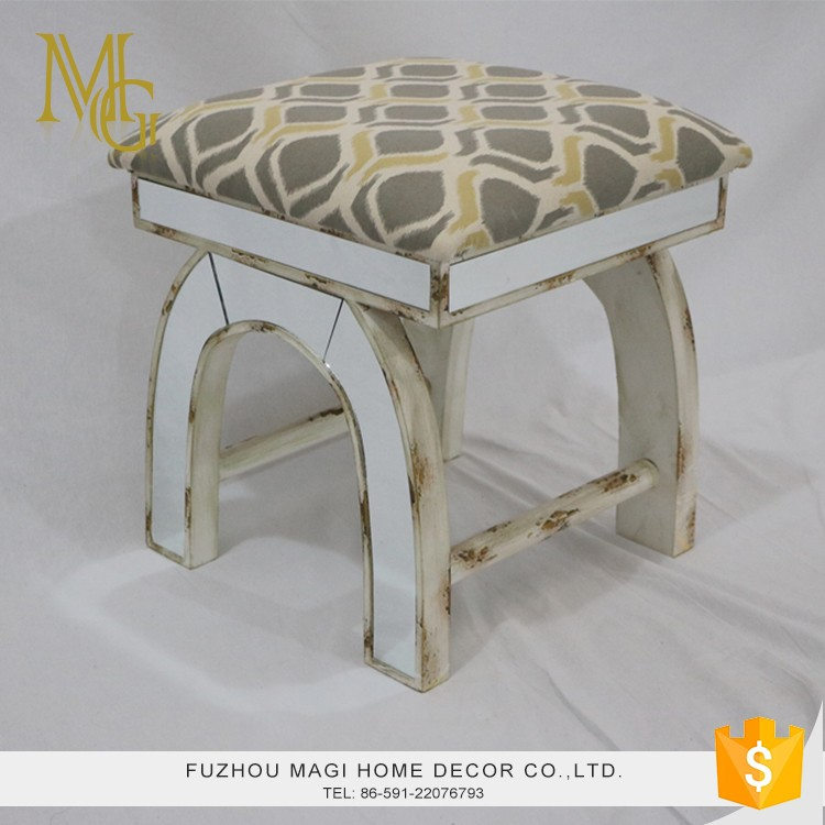 High quality living room aged antique rustic chinese wooden stool