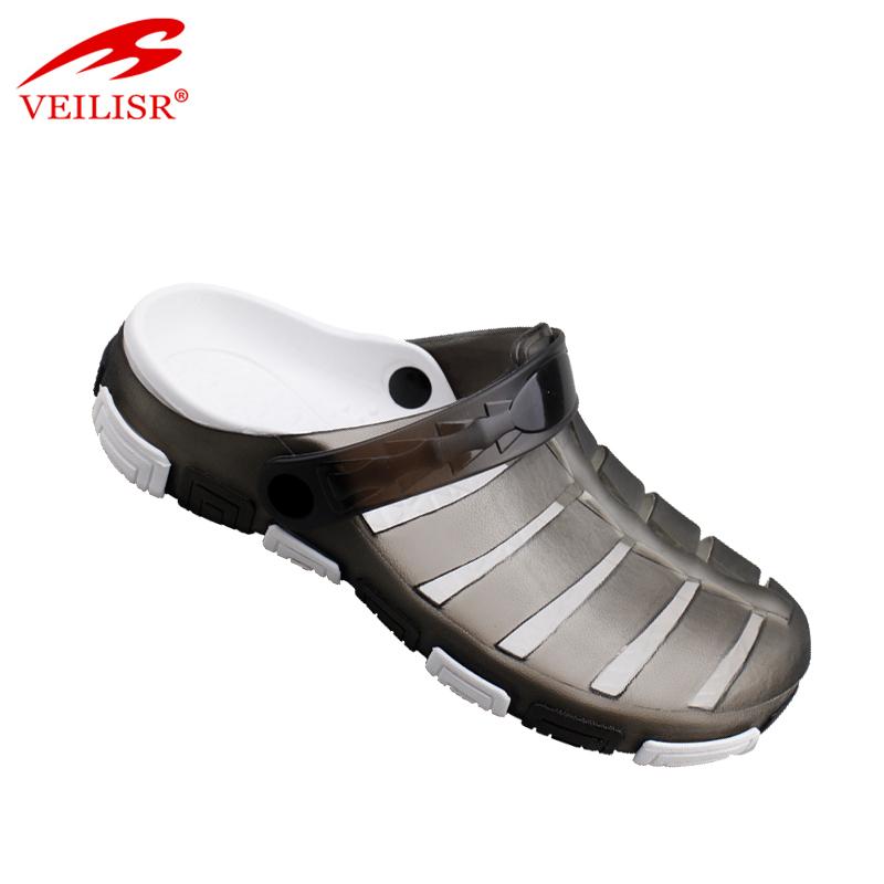d3d94d92efca New Design Summer Beach Jelly Shoes Clear Pvc Sandals Men Clogs - Buy Plastic  Clogs
