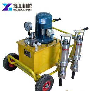 Ultra performance hydraulic rock splitter /stone splitting machine /fracturing machine for building mining