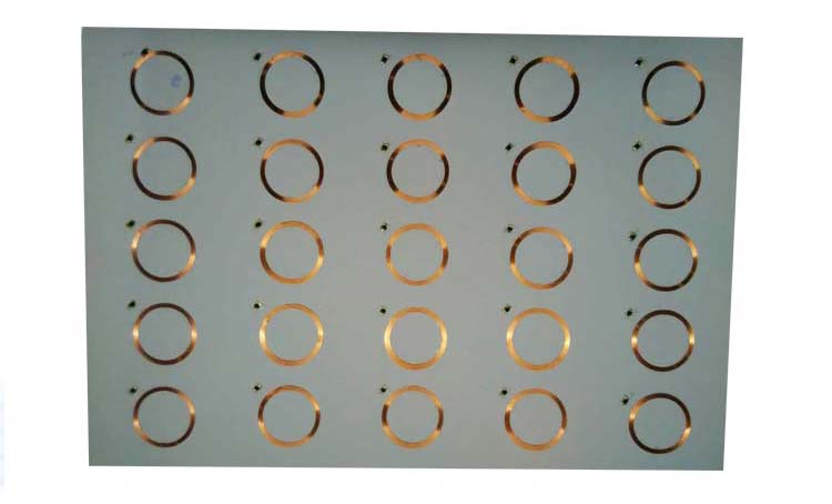 Factory price A4 size 3*8 layout 13.56MHz HF prelam pvc rfid inlay for making access control card