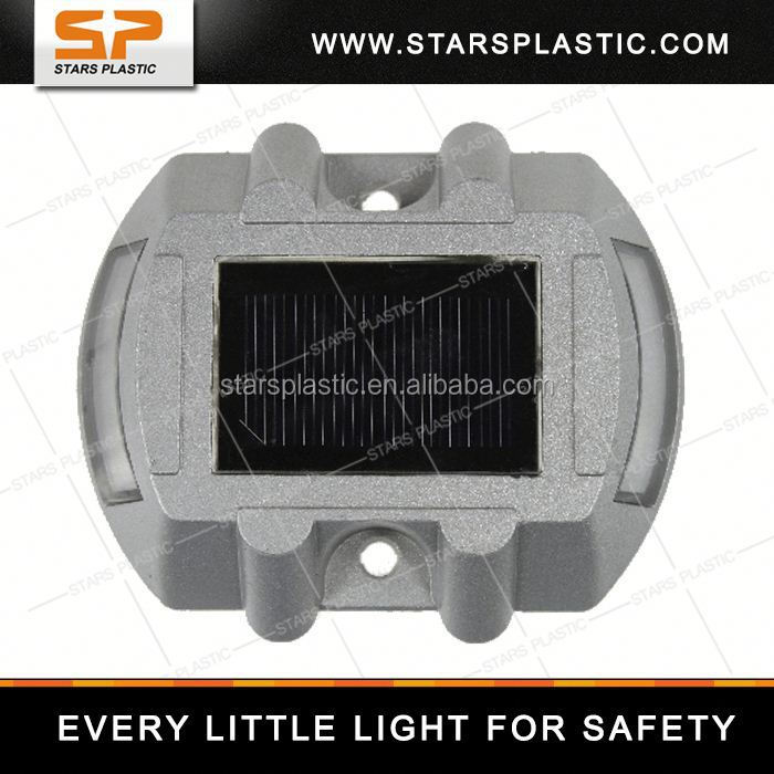 SRS-AL002 topsafe yellow color led road stud