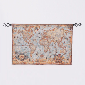 Plus Cheap Wall Hanging Tapestry World Map Tapestry Door Wall