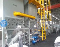 JZ- TZ500 waste Battery recycling production line