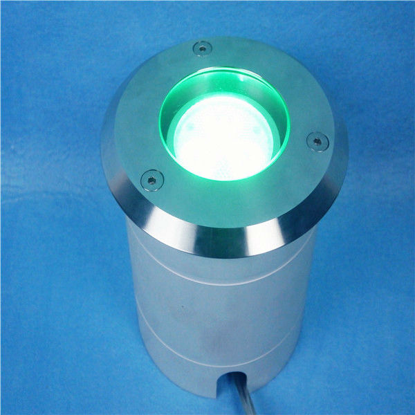 DMX IP67 9W,RGB underground light/led garden lights exterior/above ground pool lights