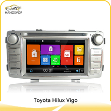 for toyota hilux car dvd player gps navigation audio radio system