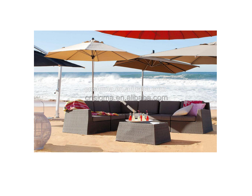 2017 Sigma good quality all weather outdoor ratan wicker furniture