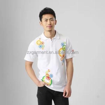 Printed Logo Work Shirts Custom Logo Polo Shirt For Tnt Express