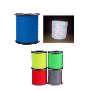 7 colors rainbow reflective yarn / colorful reflective embroidery thread