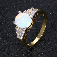 popular fashion ring jewelry elegant multicolor finger ring, luxury butterfly pearl wedding ring 2 gram gold beautiful designed